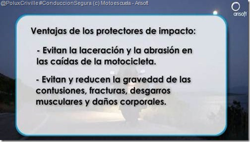 PoluxCriville-Motoescuela-Arisoft-equipacion-moto-proteccion-protectores