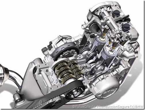 PoluxCriville-BmW-motor-moto-mantenimiento-correa-bicilindrico