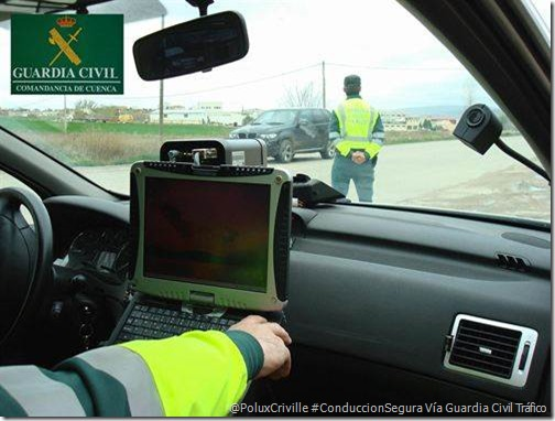 PoluxCriville-Guardia Civil Tráfico-radar-multa-medicion-correcta-velocidad-moto