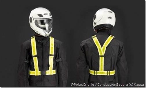 PoluxCriville-Kappa-Chaleco reflectante kappa SK213_2-visibilidad-moto