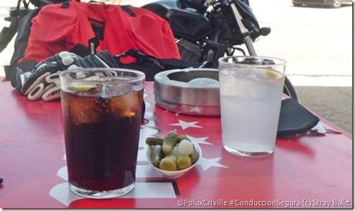 PoluxCriville-Stray Bullet-Parque Natural Lagunas Glaciares de Neila-ruta-moto-Coca Cola y Aquarius