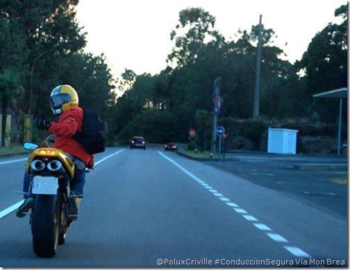 Vía Pabito Brun Brea - Mon Brea-moto-conduccion-segura-mirada-atras