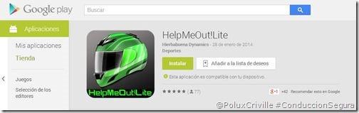 PoluxCriville-HelpMeOut!Lite-app-android-conduccion-segura-moto-112-SOS-PAS