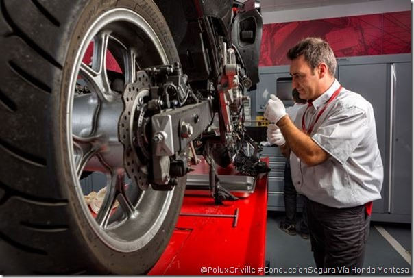 PoluxCriville-Via-Honda_Montesa-mantenimiento-moto-seguridad-pasiva-activa-frenos-pastillas