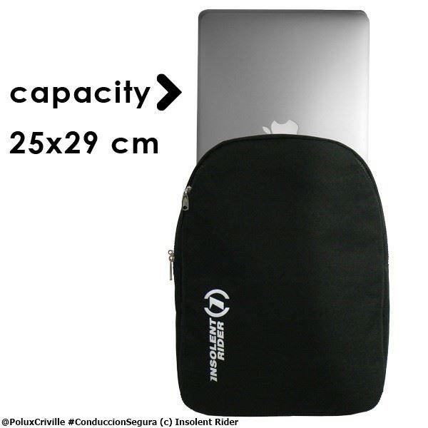 PoluxCriville-Insolent-Rider-mochilla-capacidad-ordenador-portatil