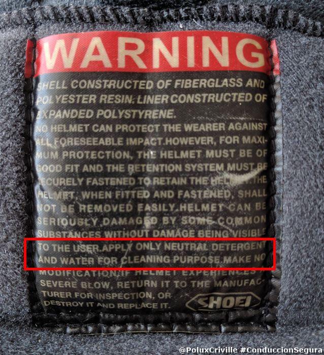poluxcriville-limpieza-shoei-xr100-warning