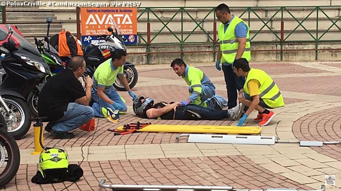 poluxcriville-via-pmsv-simulacro-accidente-moto-dos-heridos