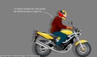 Una cazadora de cuero de moto puede ser suficiente para no coger frío.