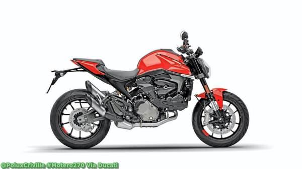 Modelo de moto nacked de Ducati