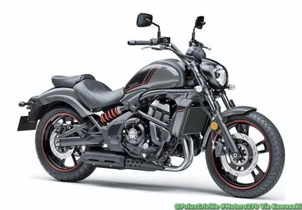 Modelo custom de Kawasaki